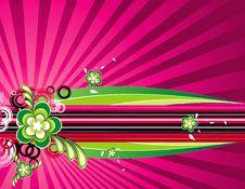 Free Vector Flower Illustration Stock Images - 15231904