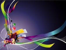 Free Vector Abstract Illustration Stock Photos - 15231943