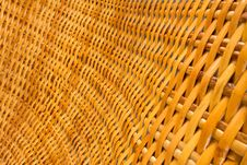 Rattan Texture Royalty Free Stock Image