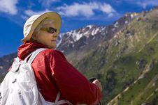 Free Old Women In Mountain Stock Photo - 15233100