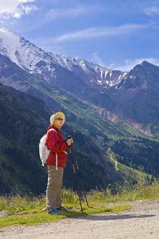 Free Old Women In Mountain Stock Photos - 15233263