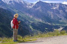Free Old Women In Mountain Royalty Free Stock Photo - 15233365