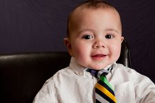 Free Business Baby Portrait Stock Images - 15233374