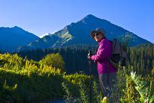 Free Old Women In Mountain Stock Photos - 15233523