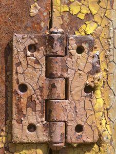 Free Door Hinge Stock Image - 15233871