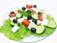Free Greek Salad Royalty Free Stock Images - 15234189