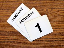 Free Calender New Year Day 2011 Stock Photo - 15234990