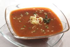 Free Dietetic Soup Dish Royalty Free Stock Photography - 15235347