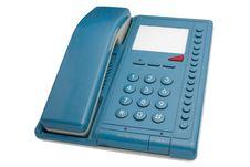 Free Blue Phone   Isolated Stock Photos - 15235353