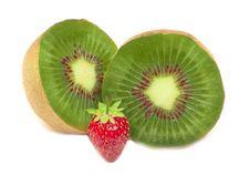 Free Kiwi And Strawberry Stock Photos - 15235373