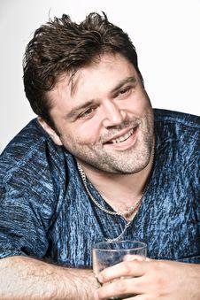 Free Studio Shot Of Funny Man Stock Images - 15236724