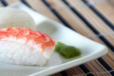 Free Sushi With Prawn Detail Stock Photo - 15236820