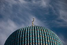 Free Fragment Of Mosque Petersburg Royalty Free Stock Photos - 15237098