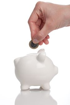 Free Piggy Bank Royalty Free Stock Photography - 15237587