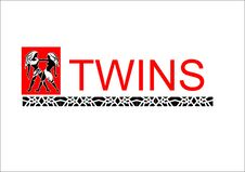 Free Logo_twins Royalty Free Stock Images - 15237619