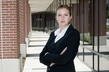 Free Attractive Businesswoman Royalty Free Stock Photography - 15238977