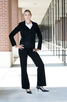 Free Attractive Businesswoman Royalty Free Stock Photography - 15239007