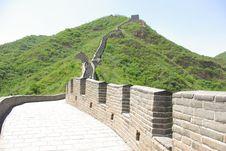 Free Great Wall Of China Juyongguan Royalty Free Stock Image - 15239476