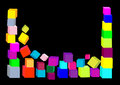 Free 3d Composition Of Cubes. Vector Illustration. Stock Photo - 15240210
