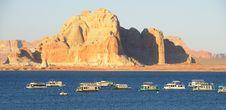 Free Lake Powell Marina Royalty Free Stock Photography - 15240467