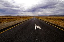 Free The Long Road Home Stock Photography - 15242362