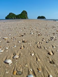 Free Nang Beach, Krabi, Thailand Stock Photos - 15242603