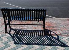Free City Bench Stock Photos - 15242683