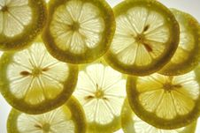 Free Lemon Slices Royalty Free Stock Image - 15242966