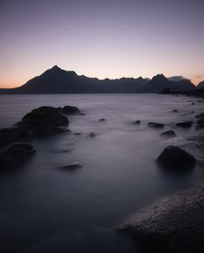Free Sunset Over The Black Cuillin Ridge, Skye Stock Photo - 15243140