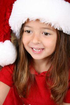 Free Christmas Girl Royalty Free Stock Image - 15244276