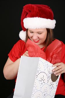 Free Christmas Gift Royalty Free Stock Photography - 15244307