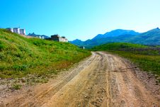 Free Road In The Crimean Mountains Stock Image - 15244801