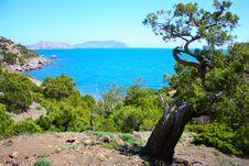 Amazing Landscape Of The Black Sea Royalty Free Stock Image