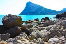 Amazing Landscape Of The Black Sea Stock Photos