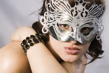 Free Woman S Look Mask. Royalty Free Stock Photos - 15246338