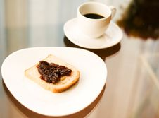 Free Romantic Breakfast With Coffee Stock Photo - 15247320