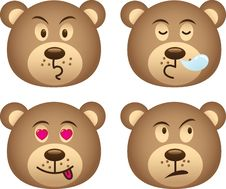 Free Bear Expressions Stock Photography - 15247382