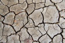 Free Dry Cracked Soil Royalty Free Stock Images - 15247399