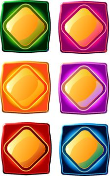 Free Buttons Royalty Free Stock Image - 15247496