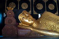 Gold Buddha Image Royalty Free Stock Photography