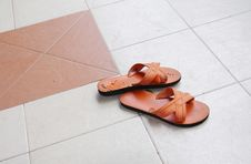 Free Sandals Royalty Free Stock Photography - 15247947