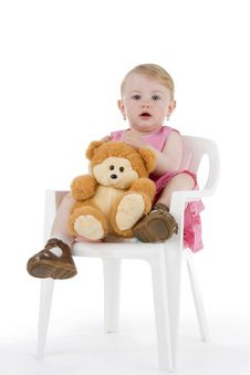 Free Toddler With His Toy Stock Photos - 15248213