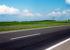 Free The Asphalted Road Royalty Free Stock Image - 15248246