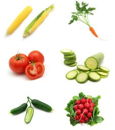Free Vegetables Collection Royalty Free Stock Image - 15248346