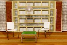 Free Two White Chairs Stock Photos - 15248813