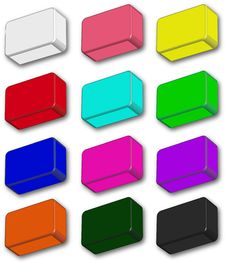 Free Colour Icons Royalty Free Stock Photos - 15248918
