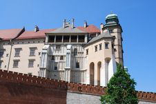 Free Royal Wawel Castle, Cracow Royalty Free Stock Photography - 15249317