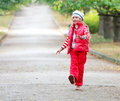 Free Young Happy Girl Walking In Park Royalty Free Stock Photo - 15251385
