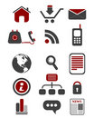 Free Web Icon Set Royalty Free Stock Image - 15253036