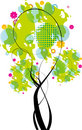 Free Abstract Tree Vector Royalty Free Stock Photography - 15255527